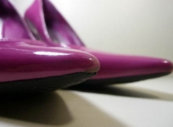 Восстановление мысов обуви - до ремонта