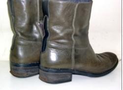Ремонт каблуков - до ремонта